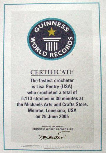 guinness_fastest_crochter_Lisa_Gentry