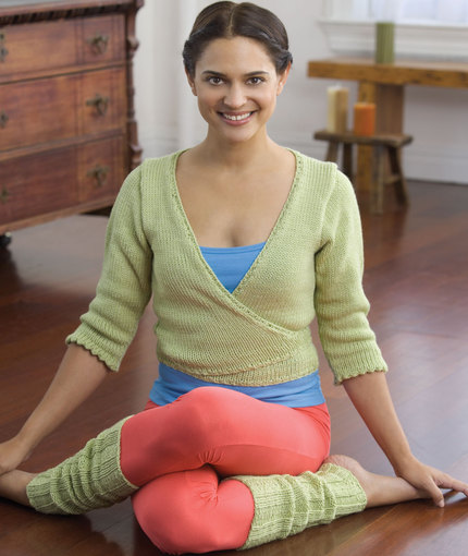 Yoga Sweater and Leggings
